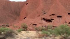 Magic of Aboriginal Uluru - stock footage