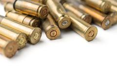 Stock Photo of bullet casings