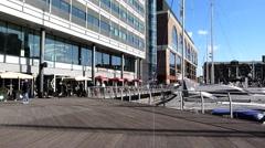 St Katharine's Dock London 14 Stock Footage