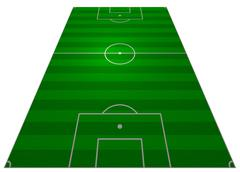 Football Pitch Piirros