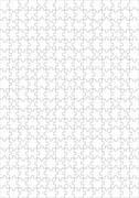 300 piece blank puzzle - stock illustration