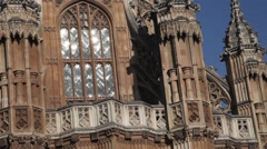 Lady Chapel, Westminster Abbey, London 3 Stock Footage