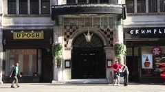 Simpsons of Piccadilly, London 1 Stock Footage