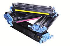 Printer toner cartridges Stock Photos
