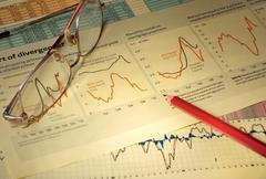 Graphs & Charts - stock photo