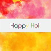 happy holi colorful background - stock illustration