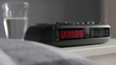Digital Alarm Clock, 11:35am, tracking in Arkistovideo