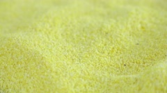 Cornmeal (not loopable) Stock Footage