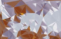 Stock Illustration of Abstract background, geometric triangle