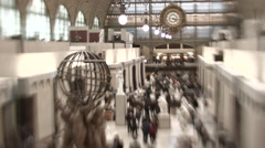 Musee D'Orsay Time Lapse Stock Footage