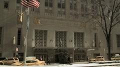 Waldorf Astoria Exterior Stock Footage