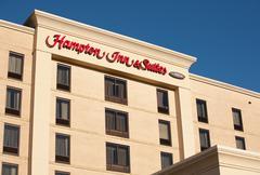 Hampton Inn - stock photo