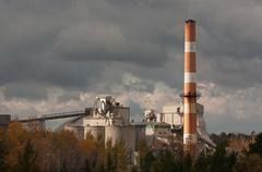 Lafarge Cement Plant Stock Photos