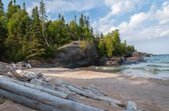 Great Lake Superior Stock Photos
