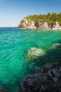 Bruce Peninsula National Park of Canada Stock Photos
