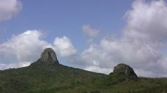 Mt. Dajianshan, Kenting National Park, Taiwan Stock Footage