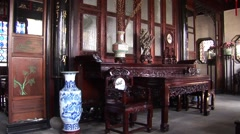China Suzhou Garden House Stock Footage