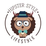 Stock Illustration of hipster lifestyle design, vector illustration eps10 graphic
