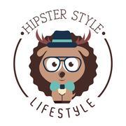 hipster lifestyle design, vector illustration eps10 graphic - stock illustration
