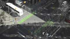 Intersection Kent and Laurier Stock Footage