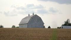 Farm House Medium Shot - stock footage