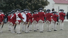 The Old Guard Fife and Drum Corps Stock Footage