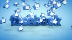 Editorial Content: Facebook Likes Stock Footage
