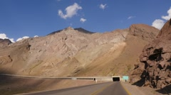 Time lapse in the Andes Mountains Stock Footage