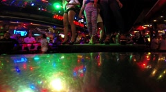 Strippers dancing in the club Stock Footage