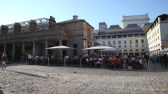 Covent Garden Piazza, London 3 Stock Footage
