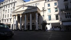 Theatre Royal Haymarket London 3 Stock Footage