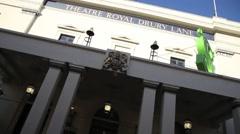 Theatre Royal Haymarket London 1 Stock Footage