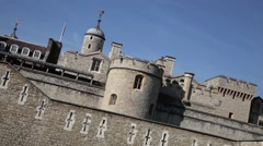 The Tower of London 3 Stock Footage
