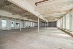 Stock Photo of Deserted warehouse