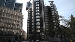 The Lloyds Building London 1 Stock Footage