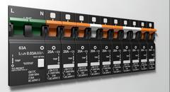 Electrical Circuit Breaker Panel Stock Illustration
