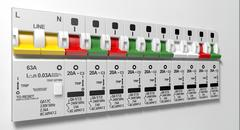 Electrical Circuit Breaker Panel Stock Illustration
