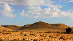 Negev Desert 2 - stock footage