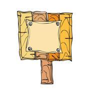Signpost - stock illustration