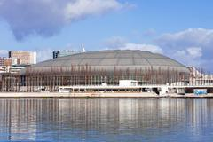 Atlantico Pavilion, currently called MEO Arena in Lisbon, Portugal Stock Photos