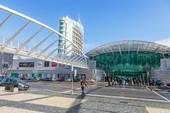 Vasco da Gama Shopping Centre - stock photo