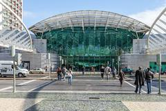 Stock Photo of Vasco da Gama Shopping Centre