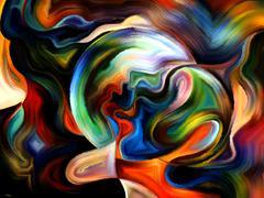 Advance of Inner Paint Stock Illustration