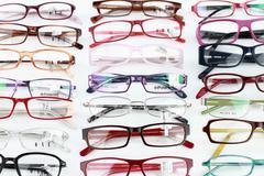 medical eyeglasses - stock photo