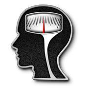 Diet Psychology Stock Illustration