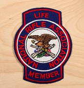 National Rifle Association patch Stock Photos