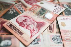 1000 Dinars - stock photo