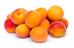 Mound of apricots - stock photo