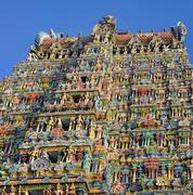 Meenakshi Amman Temple Stock Photos
