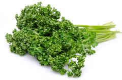 Bunch of parsley Stock Photos